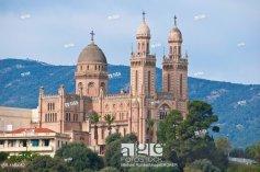 Basilica of St. Augustine und Hippone in Annaba, Algeria, Africa
