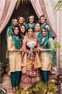 punjab-bride-with-bridesmaids