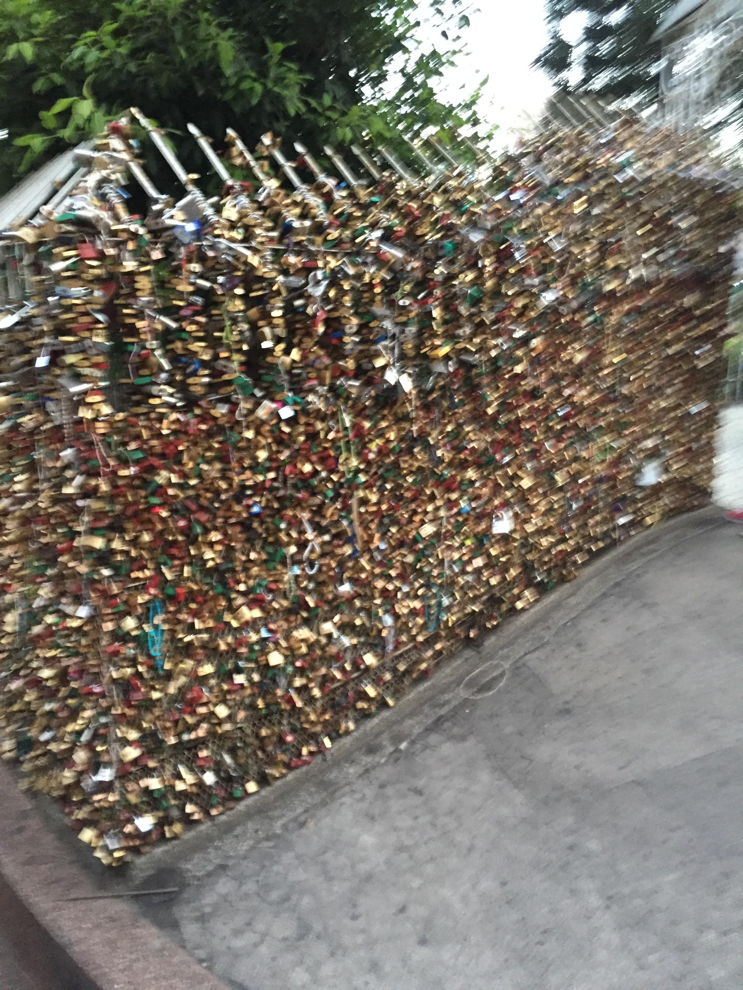 love locks at baclaran