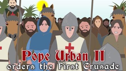 POPE-URBANII-ORDERS-FIRST-CRUSADE