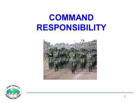 command-responsibility