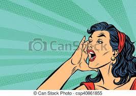 WOMAN-YELLING