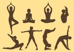 yoga-silhouettes