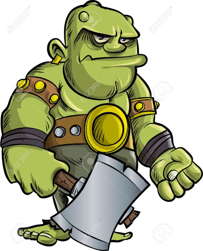 cartoon-ogre