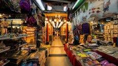 Chatuchak weekend market, Bangkok, Thailand. (Photo by: Education Images/UIG via Getty Images)