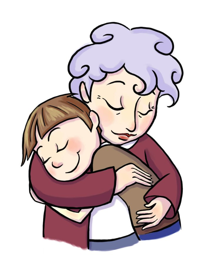 GRANDPARENT-EMBRACE