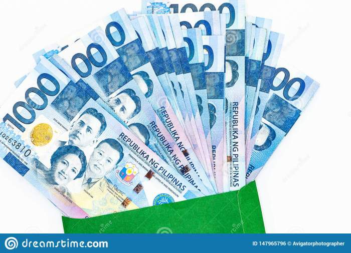 1,000 pesos