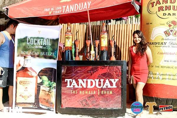 Tanduay-booth