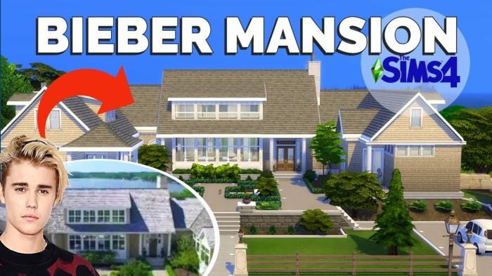 bieber's mansion