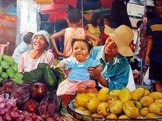 filipina-mother-seeling-fruits