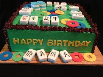 mahjong-cake