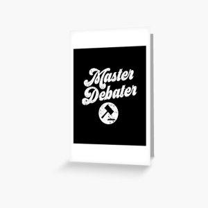 MASTER DEBATER